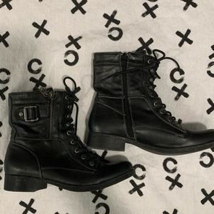 G by Guess black boots